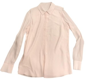Joseph Button Down Shirt Ivory