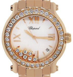 Chopard Chopard 277481 Happy Sport MOP Diamond Dial Watch