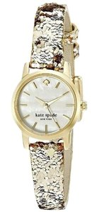 Kate Spade Women's Tiny Metro Analog Display Quartz Gold-Tone Watch KSW1011