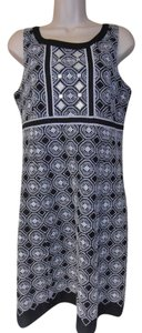 T Tahari short dress black & white Sleeveless Designer on Tradesy