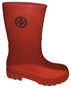 Tory Burch Orange Boots