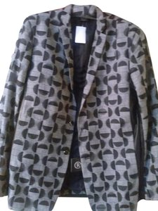rynshu masatomo Sparkle grey black Jacket