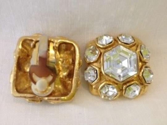 Chanel Authentic Vintage Crystal Stone