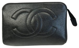 Chanel Chanel Caviar Skin Cosmetic Bag