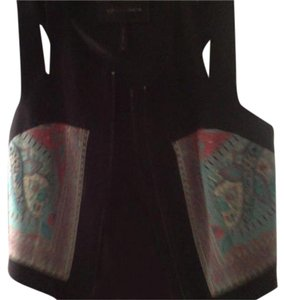 BCBGMAXAZRIA Crop Cut-out Trendy Vest