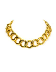 Chanel Chanel Vintage Gold-tone Chain-Link Necklace