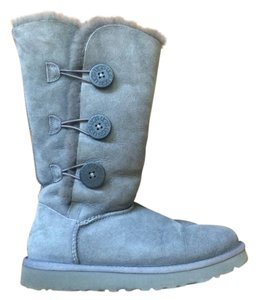 UGG Australia Buttons Bailey Grey Boots