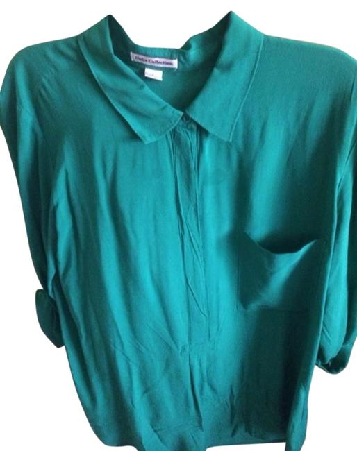 Dalia Button Down Shirt Green