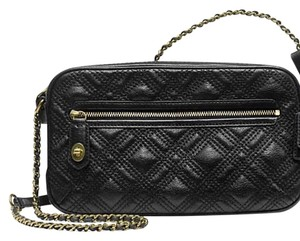 Coach Quilted Leather Cross Body Bag