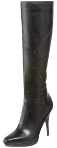 Via Spiga Knee High Leather Brown Boots