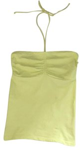 Theory Yellow Halter Top
