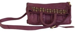 Isabella Fiore Satchel in Purple