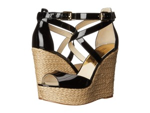 Michael Kors Gabriella Black Sandals