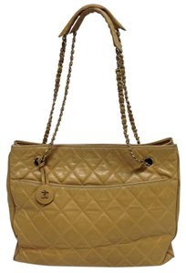 Chanel Chain Leather Leboy Speedy Looping Shoulder Bag
