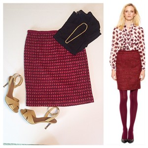 Tory Burch Skirt Berry