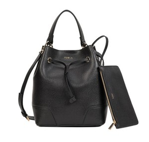 Furla 772444 Black Bucket Shoulder Bag