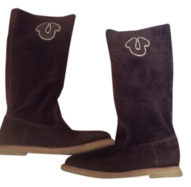 Item - Brown Abbey Horseshoe Boots/Booties Size US 7.5