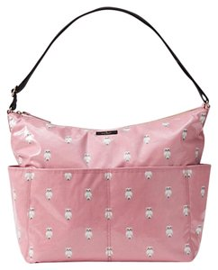 Kate Spade Pink Painterly Owl Diaper Bag