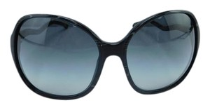 Dolce&Gabbana New DG 4059 890/8G Black Marbled Acetate Gray Gradient Lens 61mm Italy