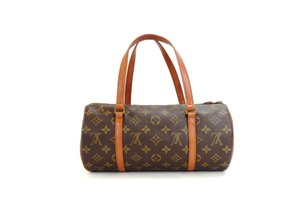Louis Vuitton Vintage Monogram Tote in Brown
