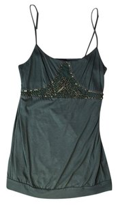 The Limited Beaded Top Green