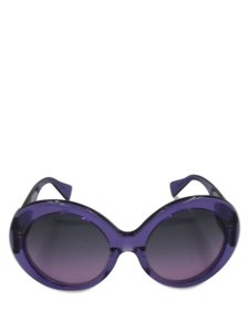 Versace Versace Purple Round MOD4298 with Medusa Logo on Legs Sunglasses