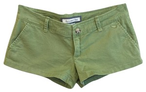 Abercrombie & Fitch Dress Shorts Green