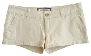 Abercrombie & Fitch Dress Shorts Yellow