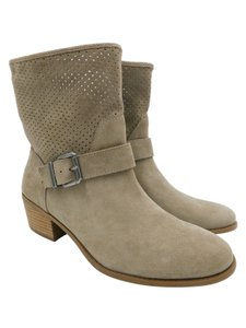 Sole Society Ankle Beige Boots