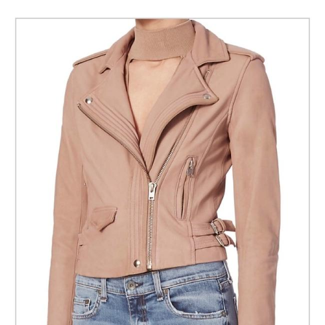 IRO Blush/Nude Leather Jacket