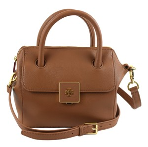 Tory Burch Clara Leather Tote Cross Body Bag