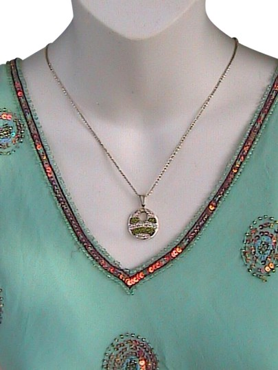 Preload https://item4.tradesy.com/images/sterling-silver-and-cz-diamond-cut-necklace-19925743-0-1.jpg?width=440&height=440