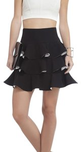 BCBGMAXAZRIA Skirt Black/white