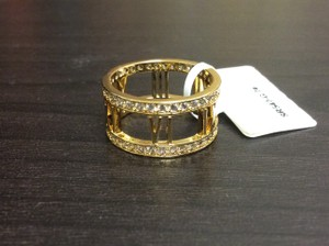 Other Cubic Zirconia Roman Numeral Ring Latest Trend Gold