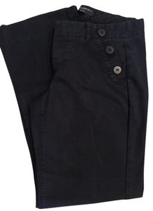 Banana Republic Flare Pants Navy Blue