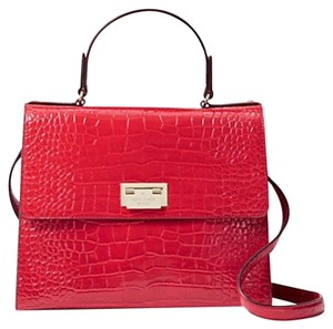 Kate Spade Satchel in Fire Engine Red