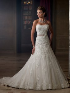 David Tutera For Mon Cheri Charlene Wedding Dress