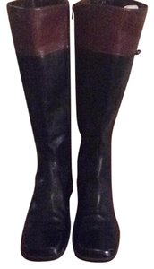 Enzo Angiolini Black/ brown Boots