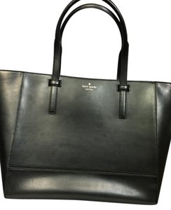 Kate Spade Stylish Leather Vacationbag Tote in Black