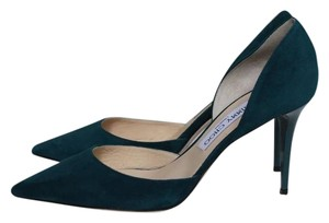 Jimmy Choo Teal Pumps