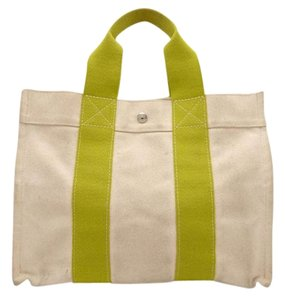 Herms Bora Satchel in canvas