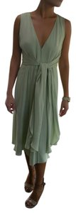 BCBGMAXAZRIA short dress Pistachio Green Bcb Silk Fairy on Tradesy