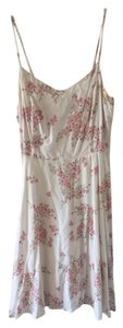 Old Navy short dress White and floral on Tradesy