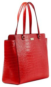 Kate Spade Tote in Fire Engine Red
