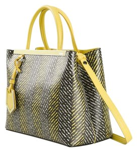 Fendi 2jours 3jours Tote in Yellow Black