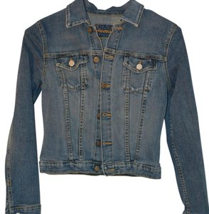 Hudson Jeans Faded blue denim Womens Jean Jacket