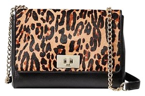 Kate Spade Satchel in Leopard Brown Black Beige