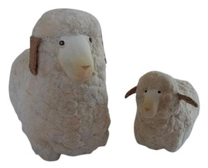 Raz 2 Piece Decorative Sheep Lambs