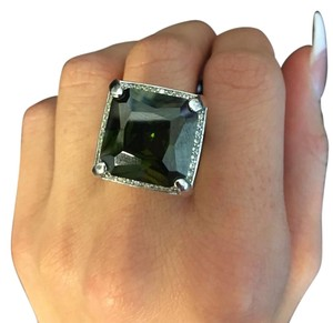 Green Tourmaline Cocktail Ring