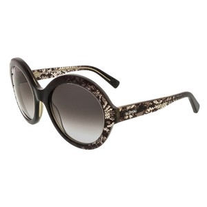 Valentino Valentino Grey Faded Round Sunglasses